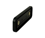 2x8 Injection Molded Frame - Round or Square corners - Black